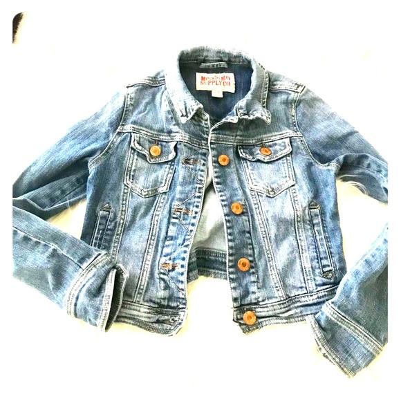 Mossimo Supply Co. Jackets & Blazers - Mossimo supply  short Jean jacket